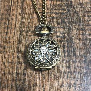 Jewelry - Pocket Watch Necklace